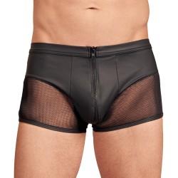 NEK Matte Look Pants With Zip Opening Black