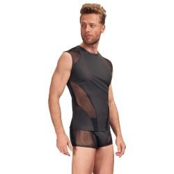 NEK Matte Look Sleeveless Shirt Black