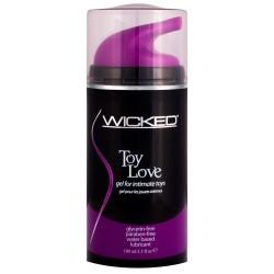 Wicked Toy Love Gel Waterbase Lubricant 100mls