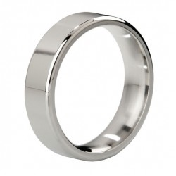 MyStim Duke Stainless Steel Polished Cock Ring
