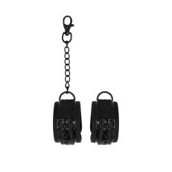 Ouch Luxury Black Hand Cuffs